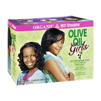 Olive Oil Girls Organic and Root Stimulator No-Lye Conditioning Relaxer System