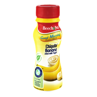 Beech Nut Good Morning Plus Fiber Chiquita Banana Juice with Yogurt