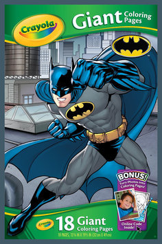Binney & Smith Marvel Batman Giant Coloring Pages