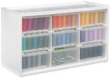 Artbin ArtBin Store-in-Drawer 9-Drawer Cabinet - Translucent