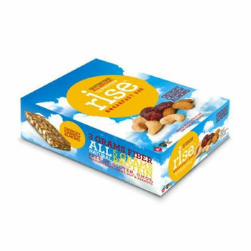 Rise Bar Breakfast Bar Crunchy Cashew Almond Case of 12 1.4 oz