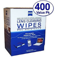 Zeiss Pre-Moistened Lens Cloths Wipes 400 Ct