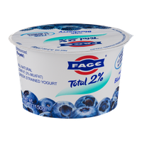 Fage Total 2% Lowfat Greek Strained Yogurt with Blueberry