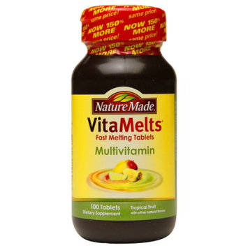 Nature Made VitaMelts Multivitamin, Tablets, Tropical Fruit, 100 ea