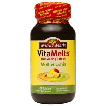 Nature Made VitaMelts Multivitamin, Tablets, Tropical Fruit, 100 ea