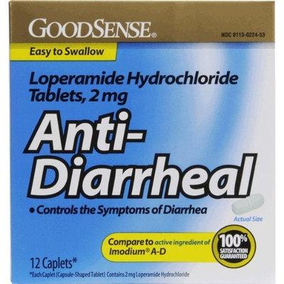 Good Sense Loperamide Hydrochloride 2Mg Anti-Diarrheal Caps Case Pack 24