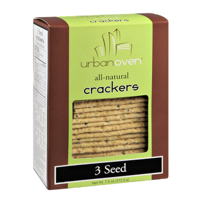 Urban Oven 3 Seed Crackers