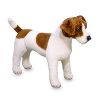 Melissa and Doug Jack Russell Terrier - Plush