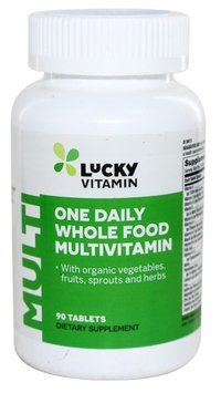LuckyVitamin - One Daily Whole Food Multivitamin - 90 Tablets