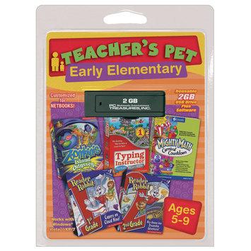 Pc Treasures PC Treasures Teacher's Pet: Early Elementary- 2GB USB flash drive - PC