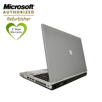 Bevco Games, Inc. Refurbished: HP Elitebook 8460P 14.1 laptop Core i5 2.5GHz 4GB RAM 320HDD DVDRW Win7Home