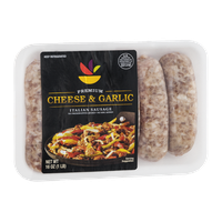 Ahold Premium Italian Sausage Cheese & Garlic - 6 CT