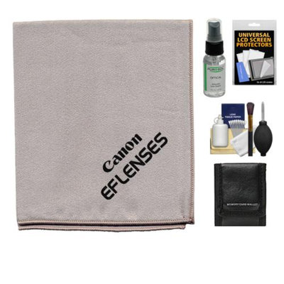 Canon EF Lenses Microfiber Lens Cleaning Cloth with Accessory Kit