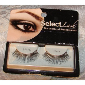 Select Lash 1 Pair of Black False Eye Lashes (S1)