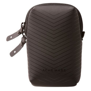 Acme Made Smart Little Camera Pouch, Matte Black Chevron