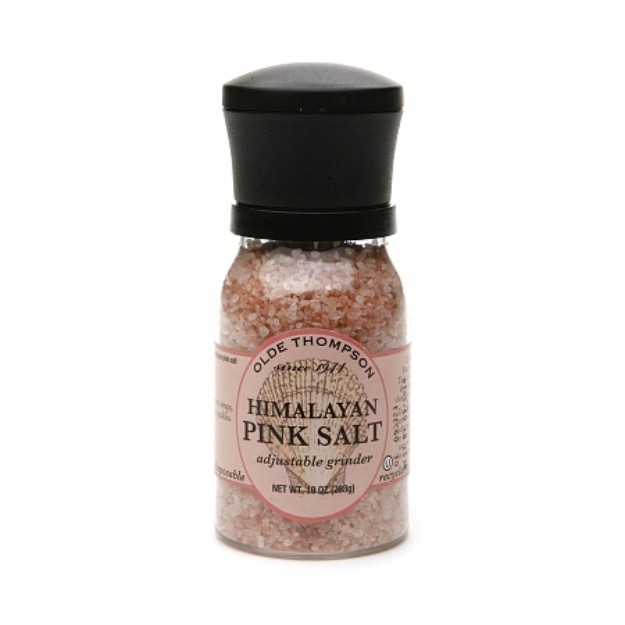 Olde Thompson Adjustable Grinder Pink Himalayan Salt