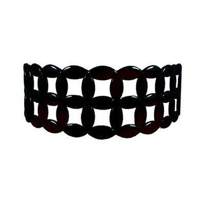 Smoothies Flexy-Comfy Wide Lattice Headband-Black 01410