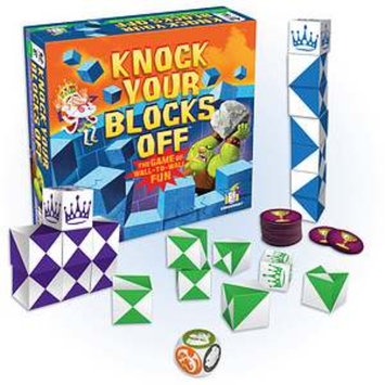 Gamewright Knock Your Blocks Off Ages 8+, 1 ea