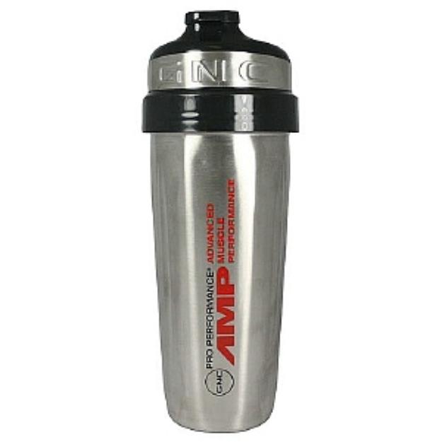 GNC Pro Performance AMP Stainless Steel Shaker