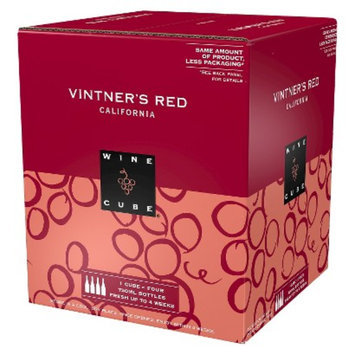 Wine Cube Vinter's Red California Wine 750 ml, 4 pk
