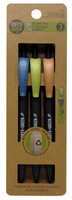 Frontier Natural Foods Frontier Natural Products 227812 Retractable Ballpoint Pens - Medium Black