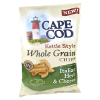 Cape Cod Kettle Style Whole Grain Italian Herb & Cheese Chips