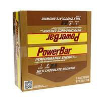 PowerBar Performance Energy Bars Milk Chocolate Brownie