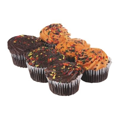 Ahold Chocolate Cupcakes Harvest - 6 CT