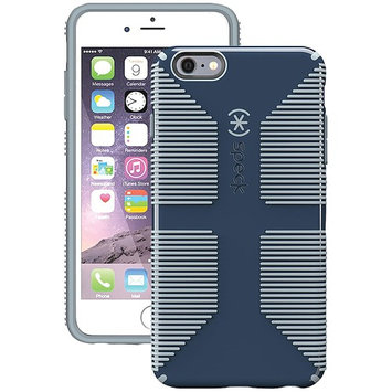 Speck Products 73428-C304 CandyShell Grip Case for iPhone 6 Plus / iPhone 6s Plus - Shadow Blue/Nickel Grey