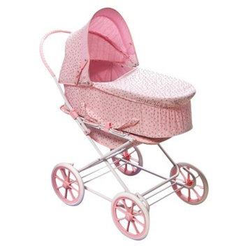 Badger Basket Rosebud 3-in-1 Doll Carrier/Stroller - Pink