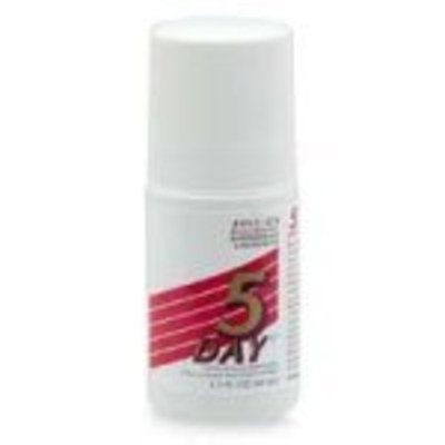 5 Day Roll-On Antiperspirant & Deodorant, Regular Scent 1.5 fl oz (44 ml)