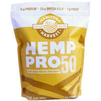 Manitoba Harvest Hemp Pro 50 Protein Supplement, 32 Ounce