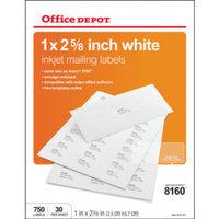 Office Depot Inkjet Addrs Lbl 1
