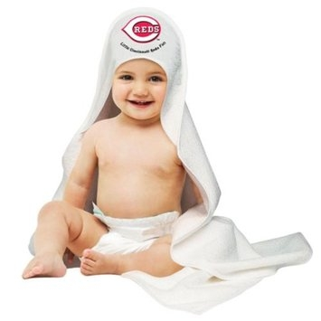 Cincinnati Reds Official MLB Hooded Infant Towel by McArthur
