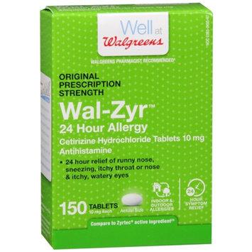 Walgreens 24 Hour Allergy 10mg Tablets, 150 ea
