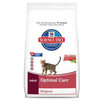 Hill's Science Diet Hill'sA Science DietA Optimal Care Adult Cat Food