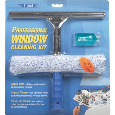 Ettore Professional Window Cleaning Kit