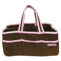 Trend Lab Storage Caddy- Ultra Suede Pink by Lab