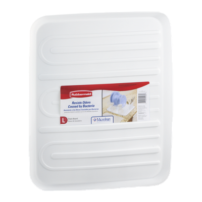 Rubbermaid Drain Board White L