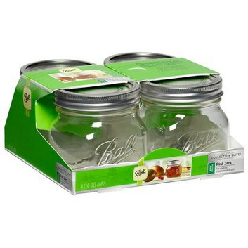 Ball Glass Preserving Jars (16oz)