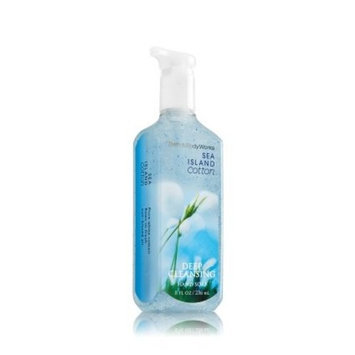 Bath & Body Works Deep Cleansing Hand Soap Sea Island Cotton