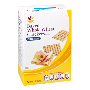 Ahold Original Baked Whole Wheat Crackers