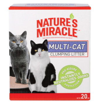Nature's Miracle® Multi Cat Clumping Litter