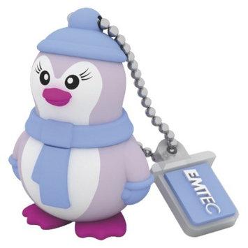 EMTEC Emtec Animalitos Lady Penguin M336 8GB USB Flash Drive - Multicolor