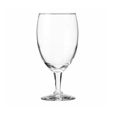 Libbey Glass Party Goblets Set of 12 with Storage Box