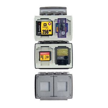 Gepe 3861E Card Safe Extreme Onyx 4 Cards CF-SM-MS-SD - Polycarbonate