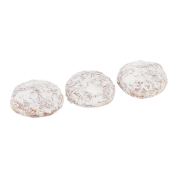Palermo Bakery Bavarian Custard Filled Powdered Sugar Coated - 3 CT