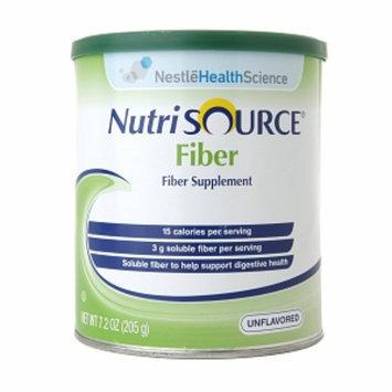 Nutrisource Fiber Powder Canister, Unflavored, 7.2 oz