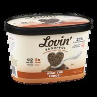 Lovin' Scoopful Gourmet Light Ice Cream What The Fudge!