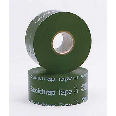 3M 51-UNPRINTED-4x100FT Electrical Tape,4x100ft,20 mil, Black, PK4